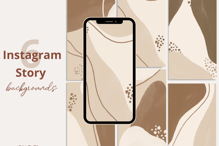 Boho Abstract Instagram story covers
