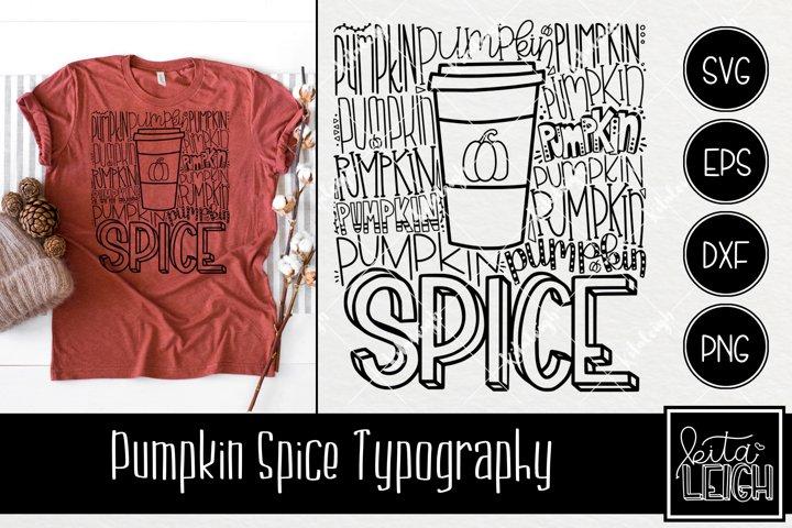 Pumpkin Spice Typography