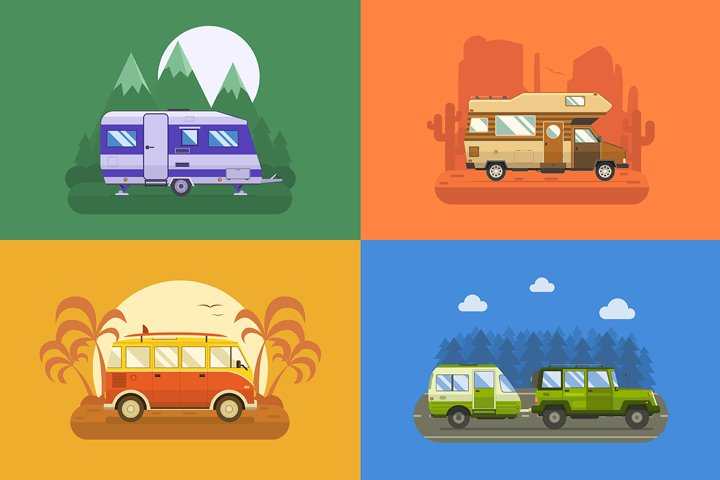 RV Travel Campers Collection