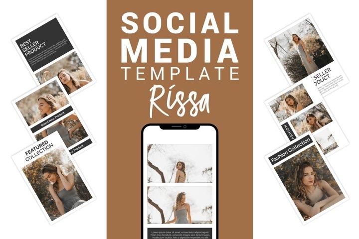 Rissa - Fashion Social Media Template