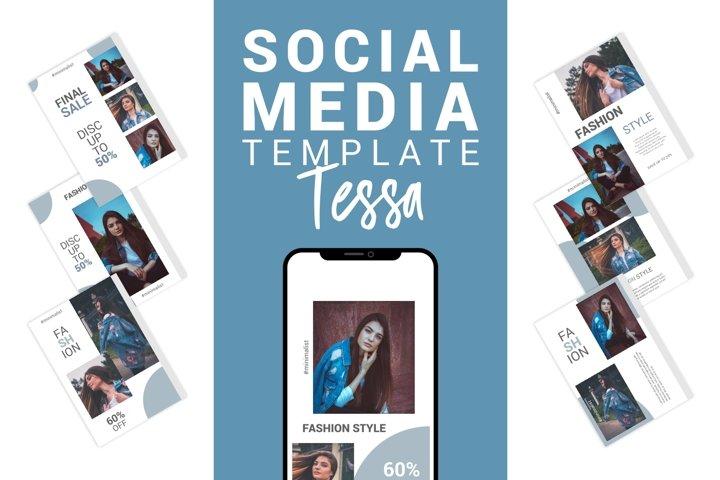 Tessa - Fashion Social Media Template