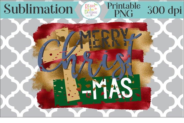 Merry Christmas Sublimation Printable