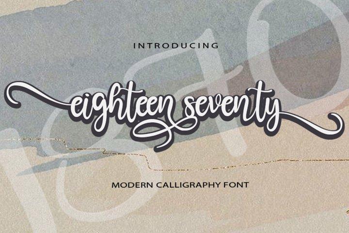 Eighteen Seventy