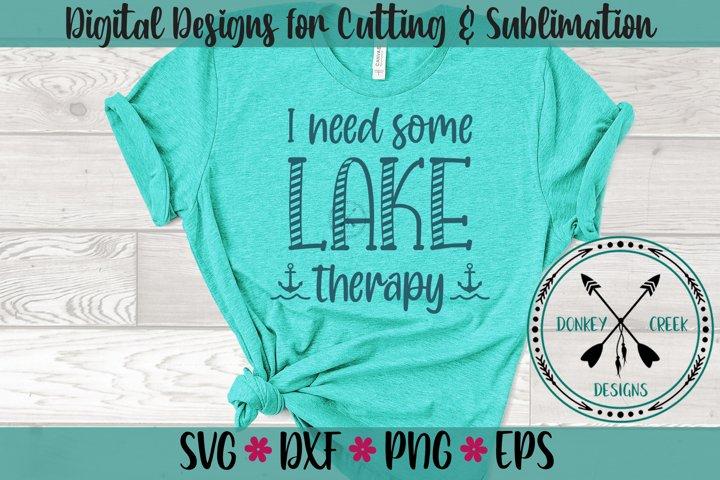 Lake Therapy SVG