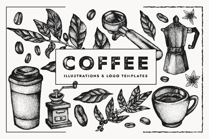 Coffee Vectors | Illustration set