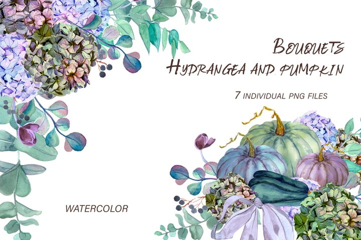 Fall floral arrangements, wedding bouquets