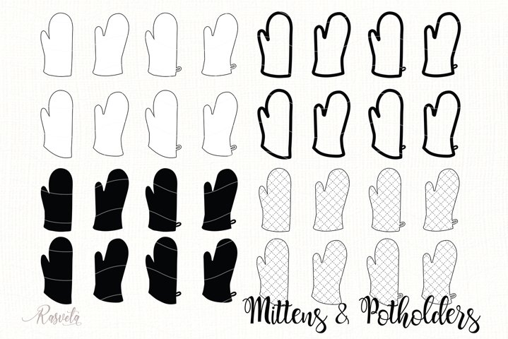 Kitchen Accessories Oven Mitts And Potholders