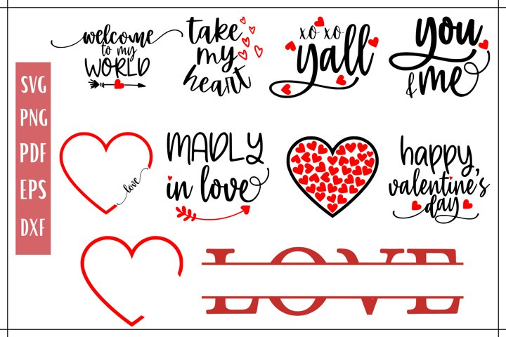 Valentines Day SVG Quote Bundle - 11