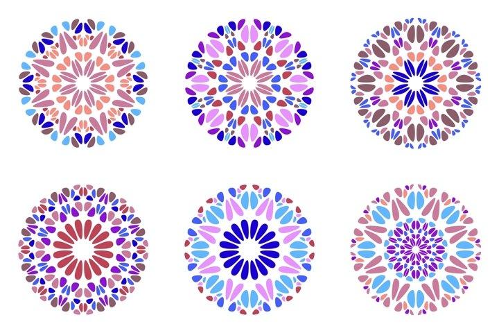 24 Floral Mandala Logo Templates example 3