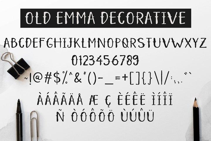 Old Emma - Free Font of The Week Design4