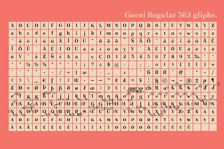 Gorni Typeface - Free Font of The Week Design4