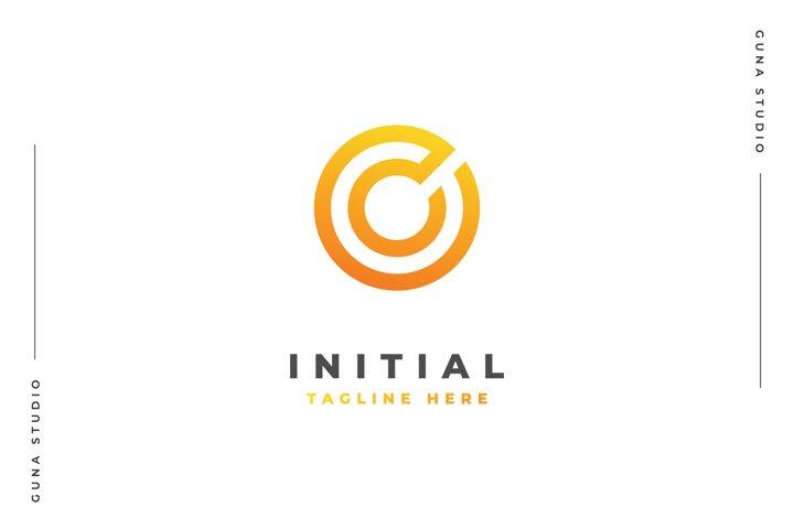 Initial C - Logo Template