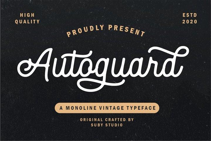 Autoguard Monoline Script