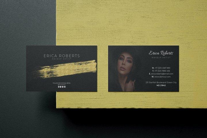 Makeup Artist Business Card - Vol.20