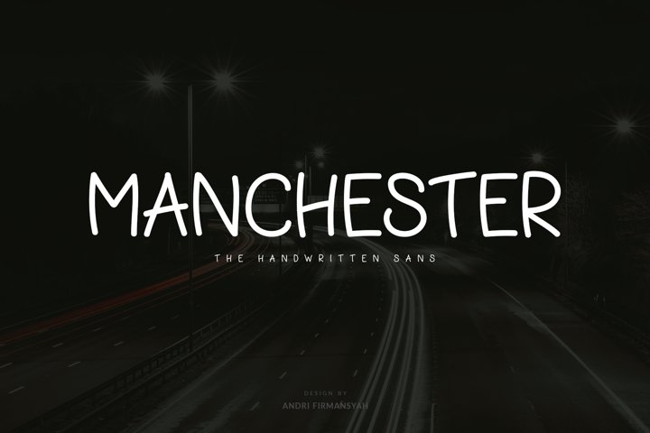 Manchester - Handwritten Sans