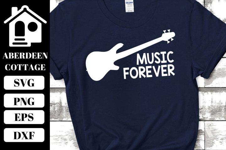 Music Forever Guitar Design