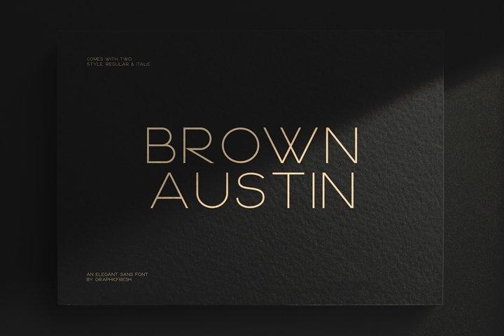 Brown Austin