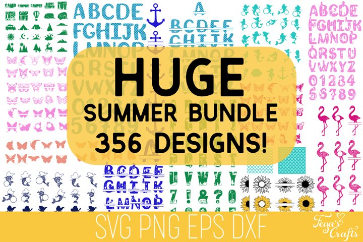 Summer SVG Bundle | Mermaid SVG Bundle | Beach SVG