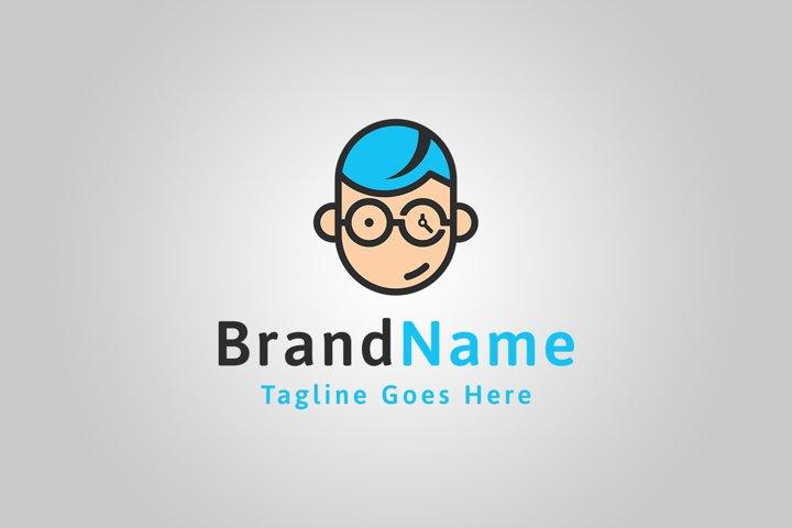 Geek Logo Template