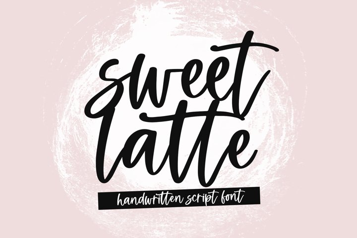 Sweet Latte - A Handwritten Script Font