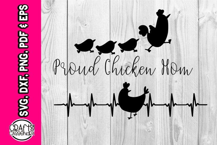 Proud chicken mom - part of Chicken bundle