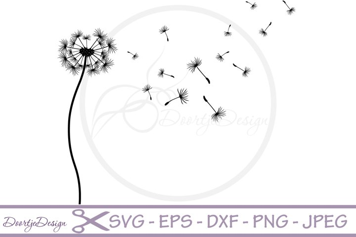 Dandelion SVG cutting files