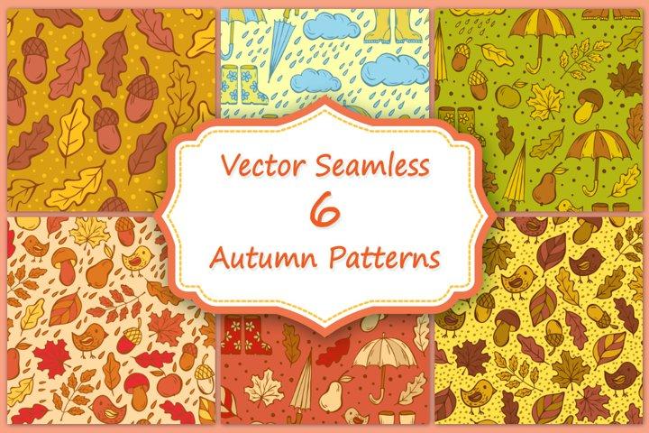 Doodling autumn design.