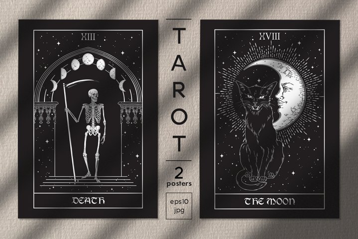 Tarot 2 Poster Designs BONUS