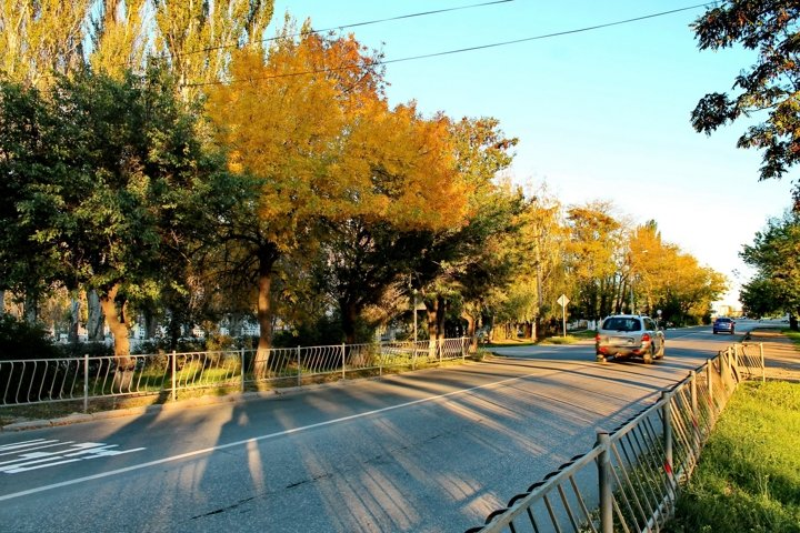 Tolstoy Street. Dzhankoy. Crimea.