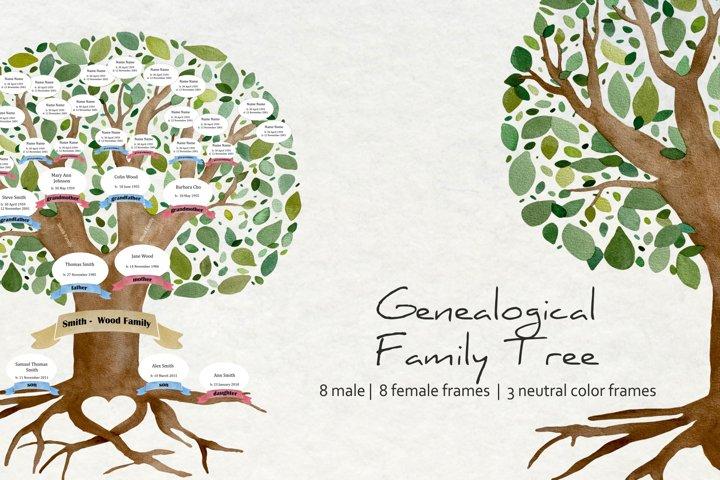Family Genealogical Tree Creator