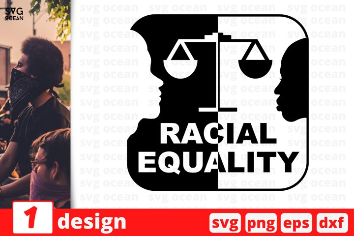 Racial Equality Svg Cut Files | Stay woke svg | No to racism