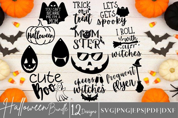 Halloween SVG Bundle - 12