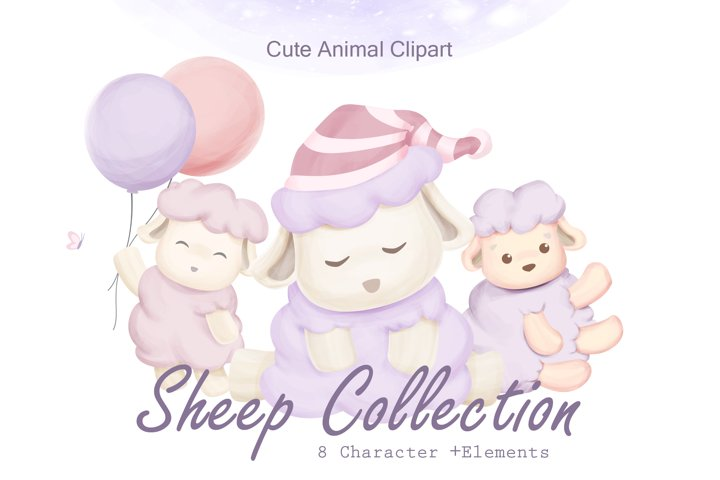 Sheep Animal Clipart