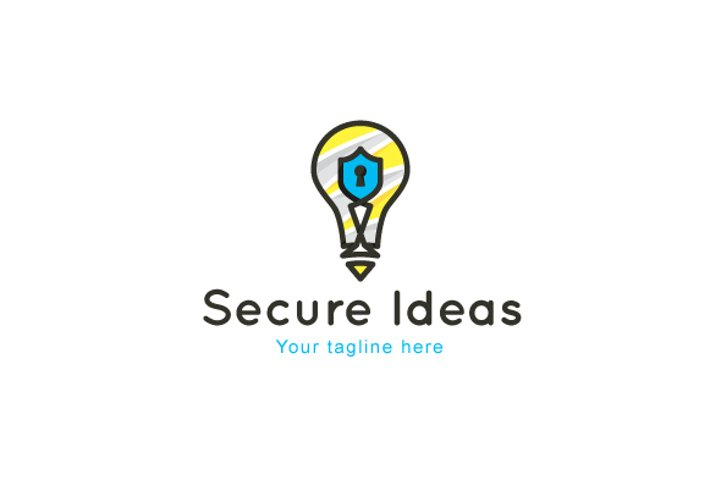 Secure Ideas - Safety Solutions Stock Logo Template