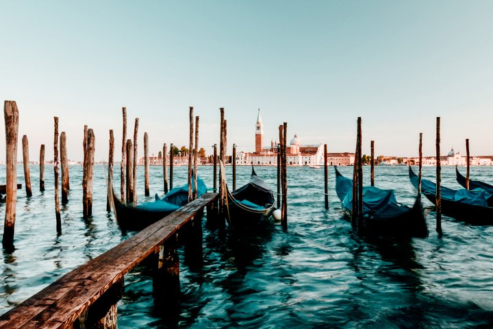 Venice Grand Canal, Beautiful view, Italy, travel postcard