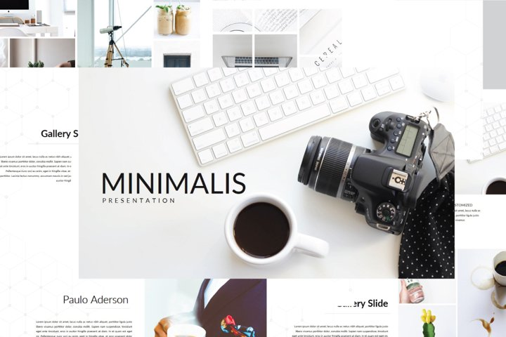 Minimalis Multipurpose Powerpoint