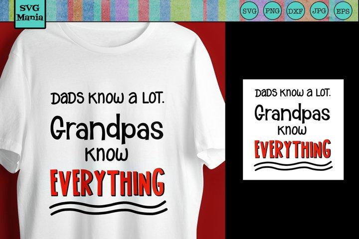 Grandpa SVG, Grandpa Saying SVG Cut File, Grandpa Quote SVG