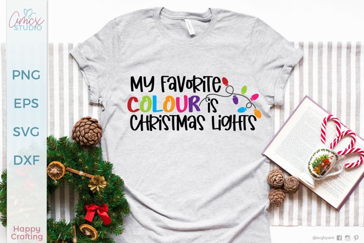 My Favourite Colour is Christmas Lights