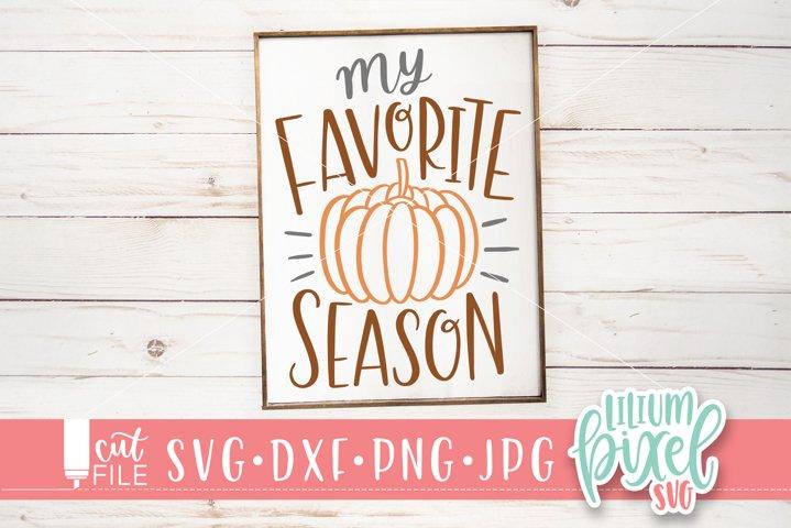 Pumpkin - My Favorite Season
