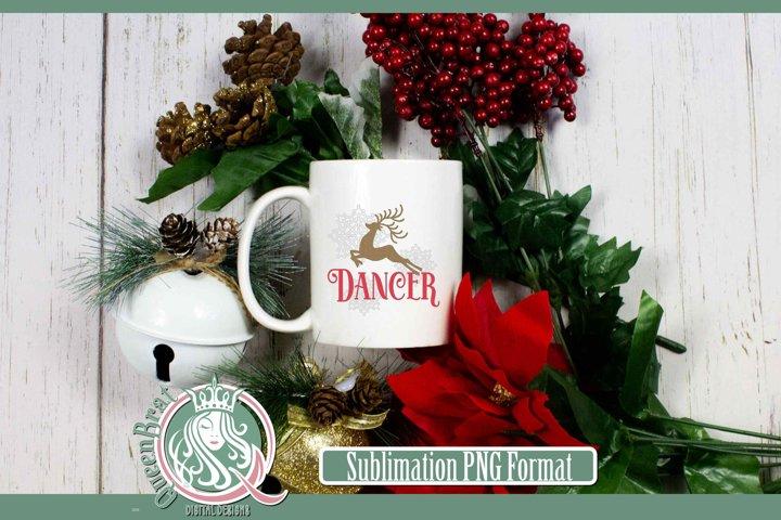 Sublimation | Reindeer-Dancer