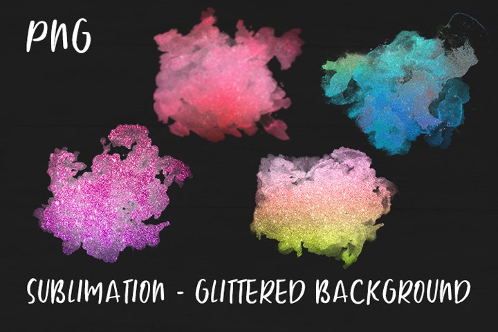 Sublimation - Glittered Background