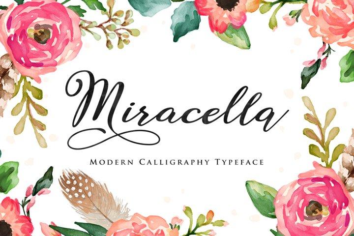 Miracella Script (Intro 30% off)