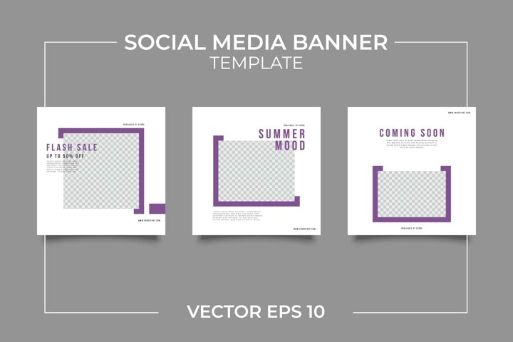 Fashion Instagram Feeds Template