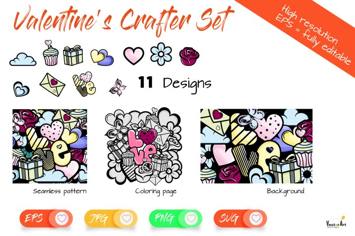 Valentines Bundle - For Crafters