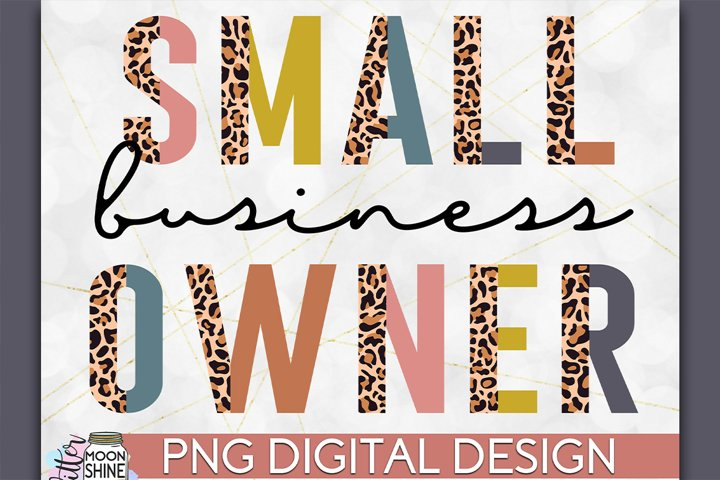 Small Business Owner PNG Sublimation
