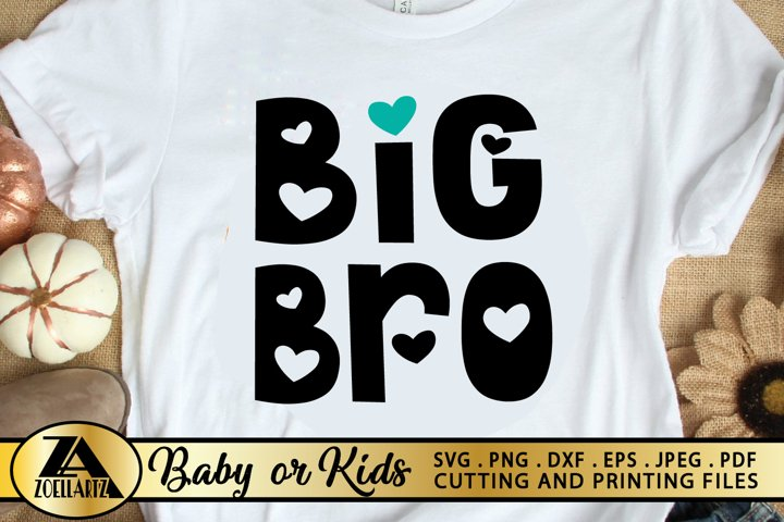 Baby SVG PNG EPS DXF Brother SVG Big Brother SVG Cut files