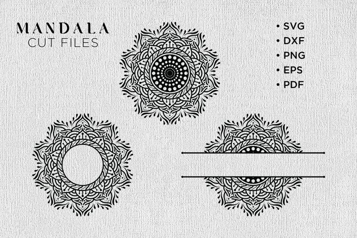 Mandala SVG, Mandala SVG Bundle, Mandala Monogram