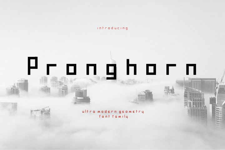 Pronghorn Font Family
