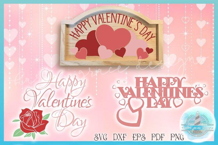 Valentines SVG | Happy Valentines Day Quote Mini Bundle