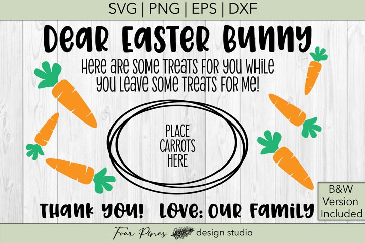 Dear Easter Bunny Love Our Family - 2 files included! V.2